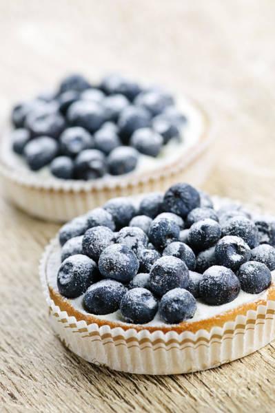 Blueberry Tarts Poster
