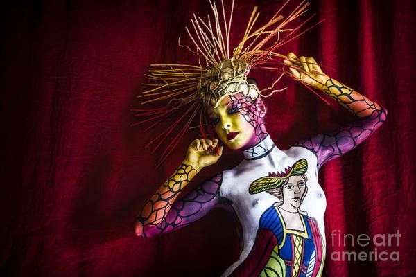 Bodypainting Poster