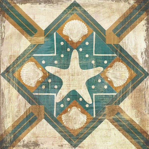 Bohemian Sea Tiles Iv Poster