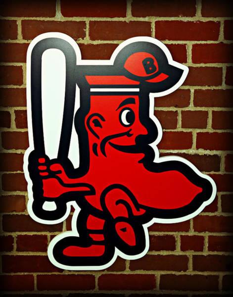 Boston Red Sox 1950s Logo Poster
