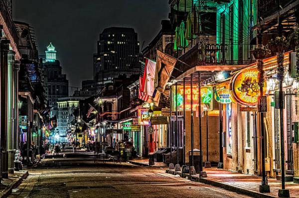 Bourbon Street Glow Poster
