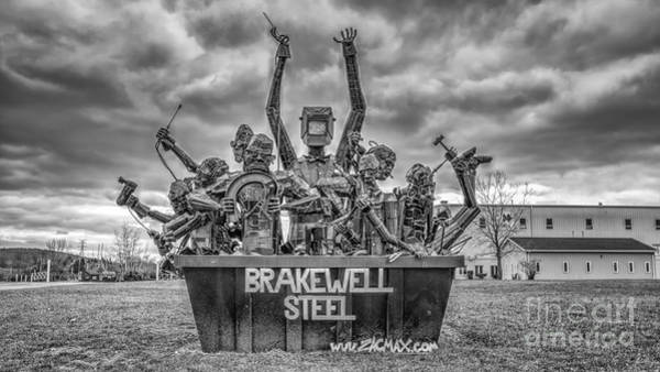 Brakewell Steel Poster
