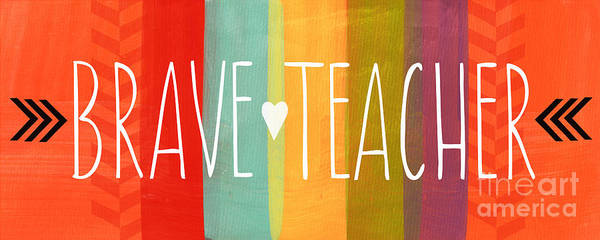 Brave Teacher Poster