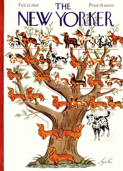 Breeds Tree Poster