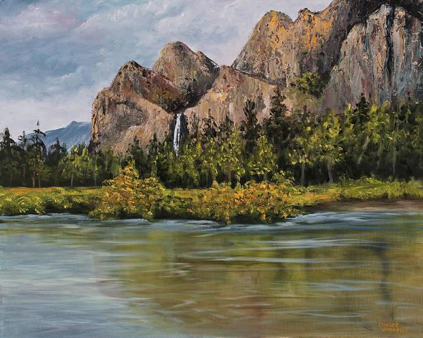 Bridalveil Fall Yosemite Poster
