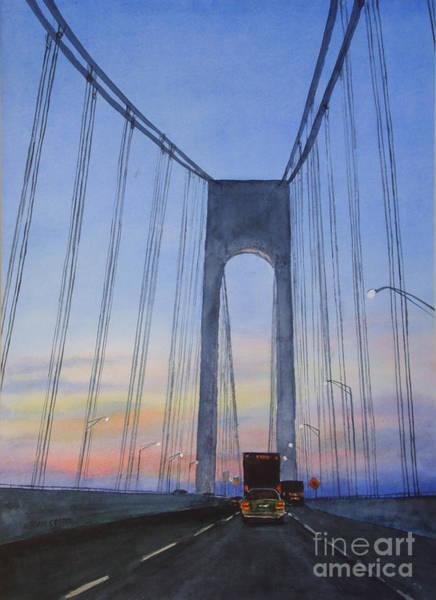 Bridge At Dawn Poster