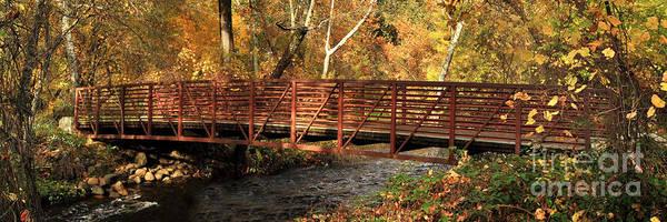 Bridge On Big Chico Creek Poster
