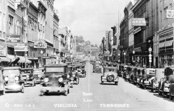 Bristol Virginia Tennessee State Street 1931 Poster
