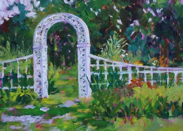 Brucemore Garden Gate Poster