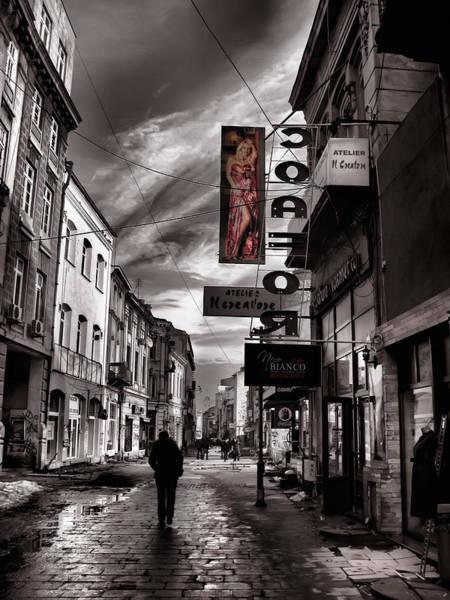 Bucharest Street Poster