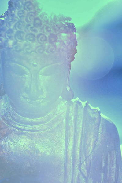 Buddah Bokeh Poster