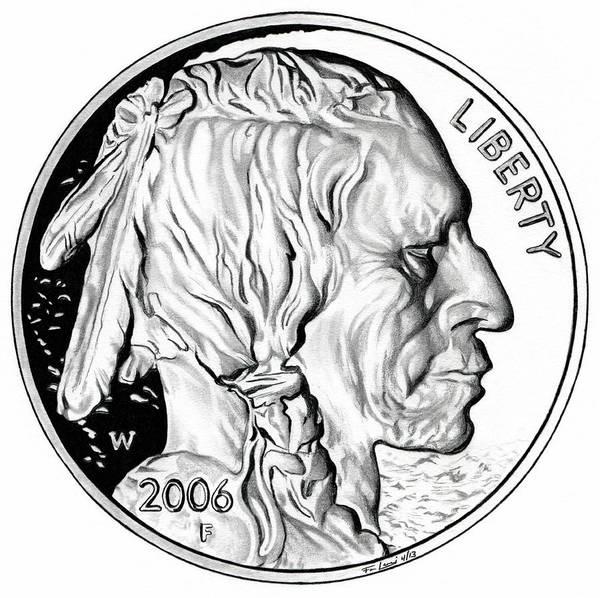 Buffalo Nickel Poster