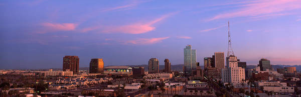 Buildings In A City, Phoenix, Maricopa Poster