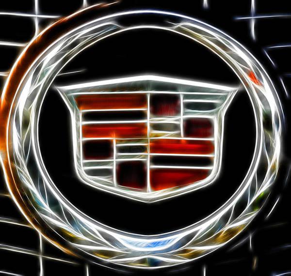 Cadillac Emblem B Poster