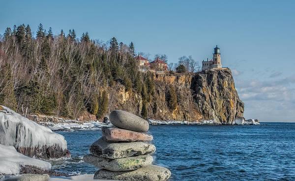 Cairn An Split Rock Lighthouse Poster