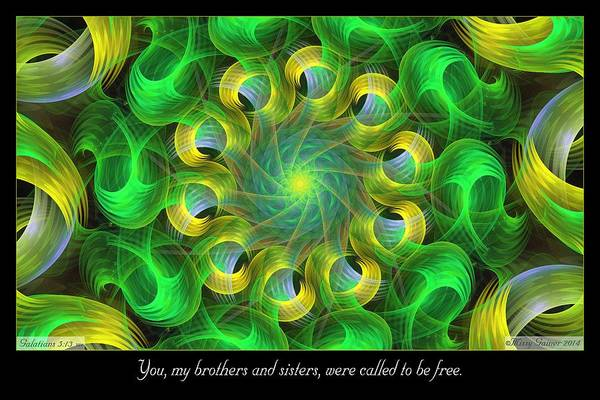 Called To Be Free Poster