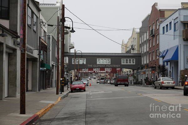 Calm Morning At Monterey Cannery Row California 5d24761 Poster