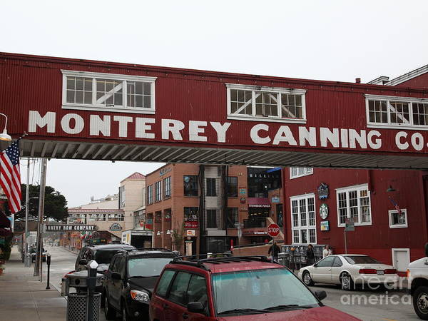 Calm Morning At Monterey Cannery Row California 5d24763 Poster