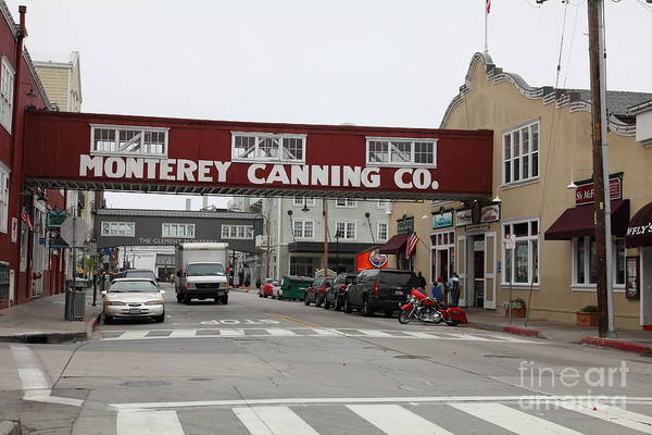 Calm Morning At Monterey Cannery Row California 5d24781 Poster
