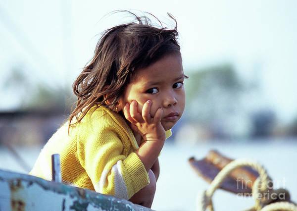 Cambodian Girl 01 Poster