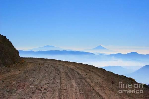 Camino En Volcan Nevado De Toluca Poster