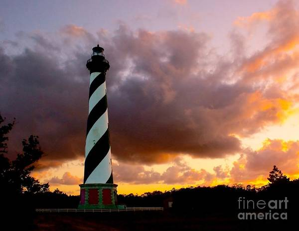 Cape Hatteras Sunset Poster