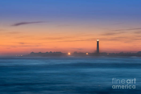 Cape May Lighthouse Sunset Poster