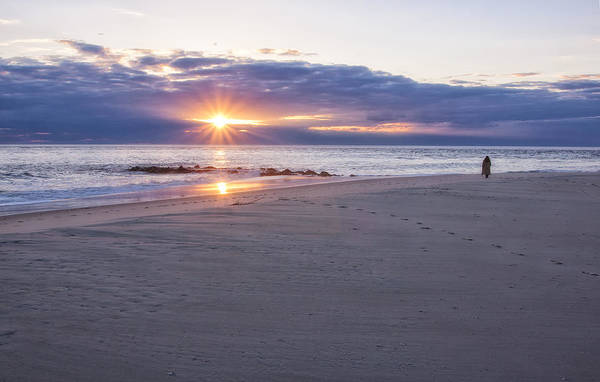 Cape May Point Winter Sunset Poster