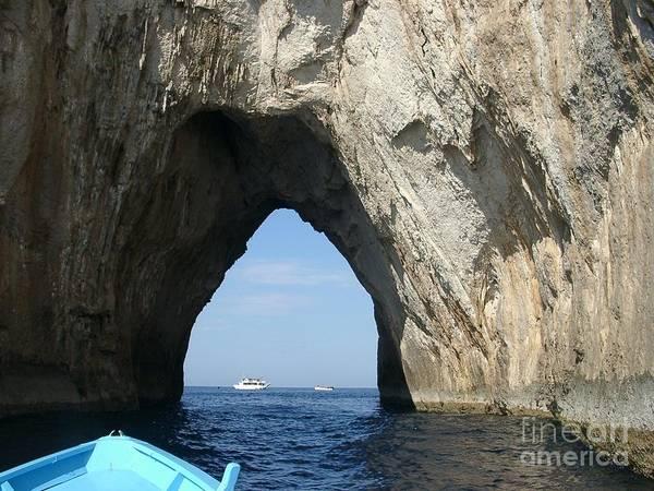 Capri Ocean Cave  Poster