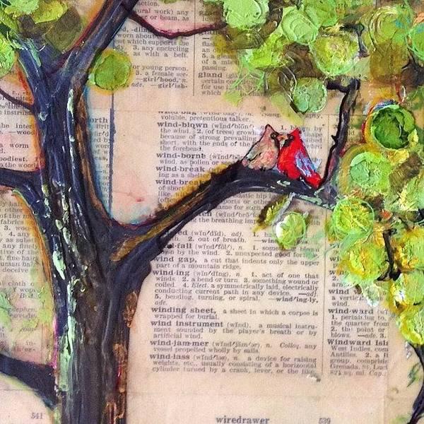 Cardinal Couple Detail Poster