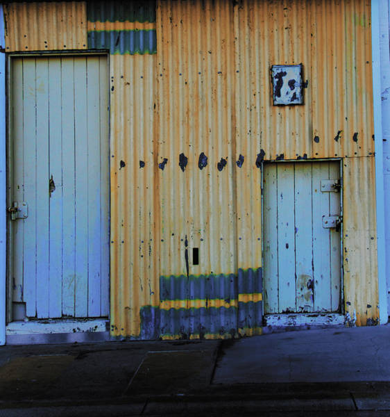 Poster featuring the photograph Cargo Shed  by Debbie Cundy
