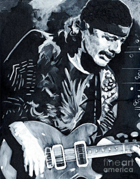 Carlos Santana - Black Magic Woman Poster