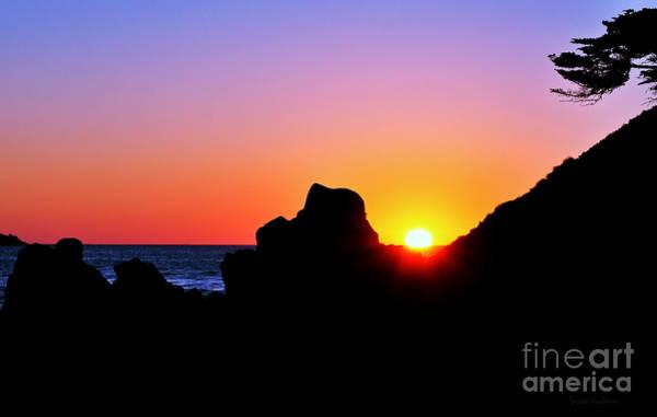 Carmel Sunset Poster