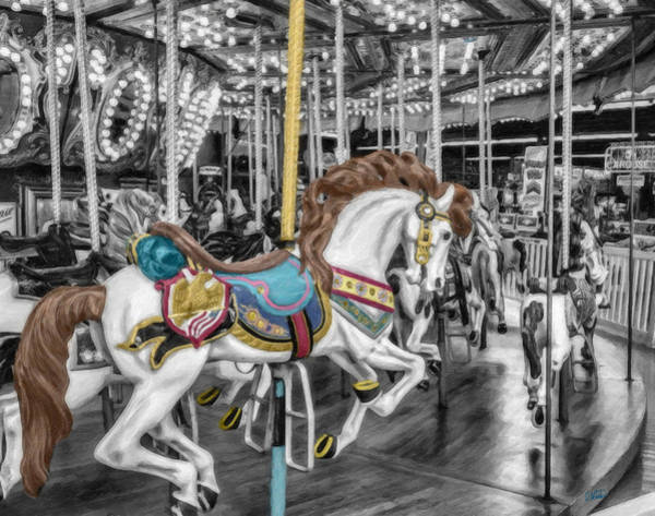 Carousel Horse Equ168125 Poster