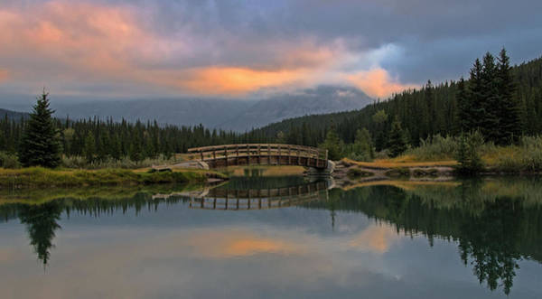 Cascade Ponds Sunrise Poster