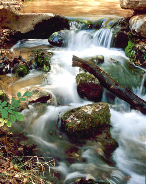 Cascades In Roman Nose State Park Poster