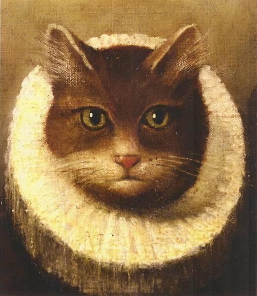 Cat In A Ruff Poster