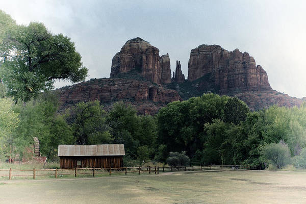 Poster featuring the photograph Cathedral Rock by Gigi Ebert