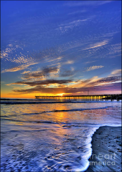Cayucos Sunset Poster