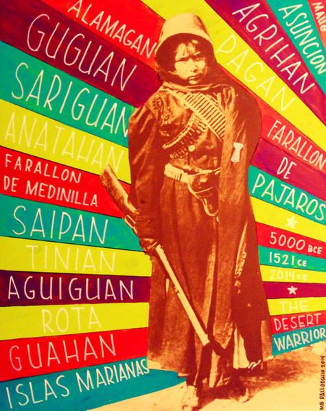 Chamorro Revolutionary Poster