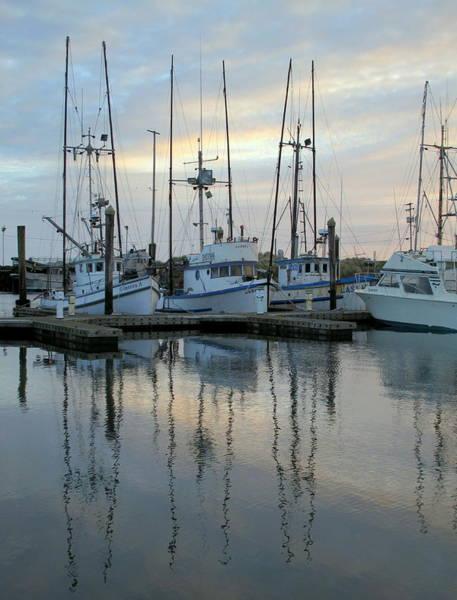 Charleston Boats Poster