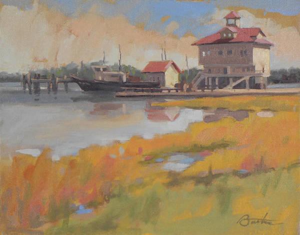 Charleston Dock Poster