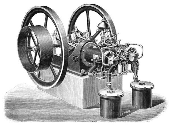 Charon Gas Engine, 1897 Poster