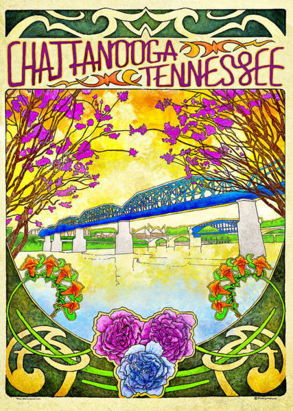 Chattanooga Tourism 1 Poster