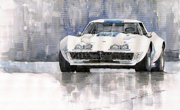 Chevrolet Corvette C3 Poster