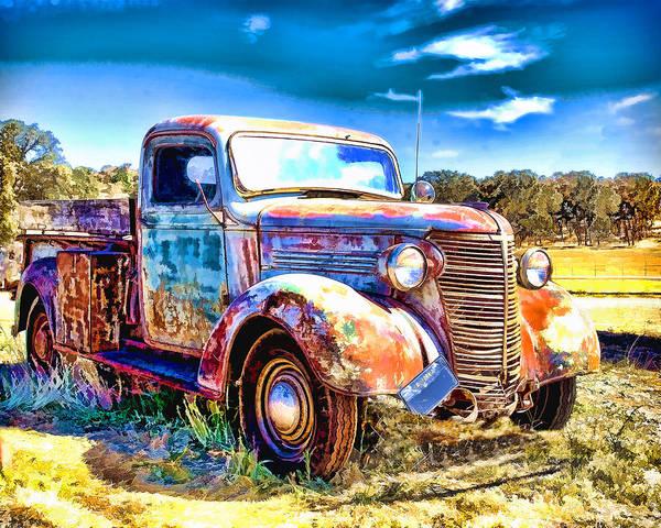 Chevrolet Pickup Truck Poster