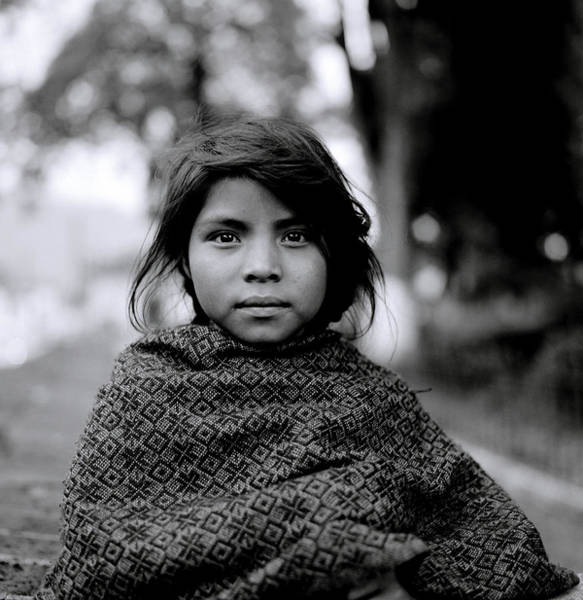 Chiapas Girl Poster