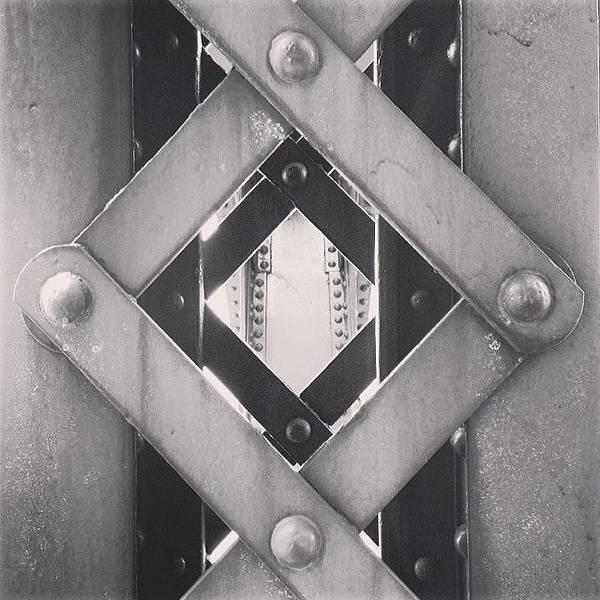 Chicago Bridge Iron Close-up Picture Poster