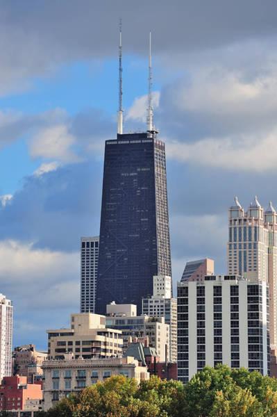 Chicago Hancock Building Poster