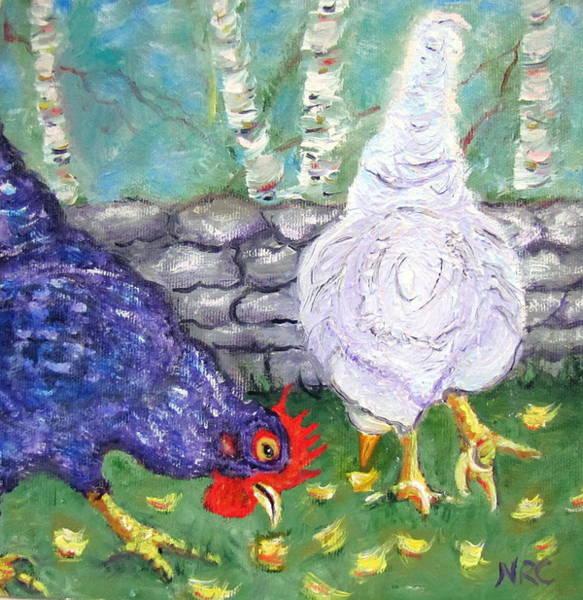 Chicken Neighbors Poster
